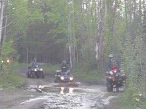 Riding on Aberdeen Plateau