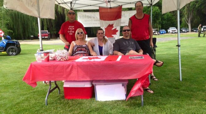 Canada Day in Polson Park